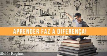 Aprender faz a diferença!