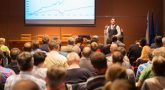 Qual a proposta das palestras empresariais?