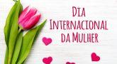 Dia internacional da mulher, quero dizer, do respeito.